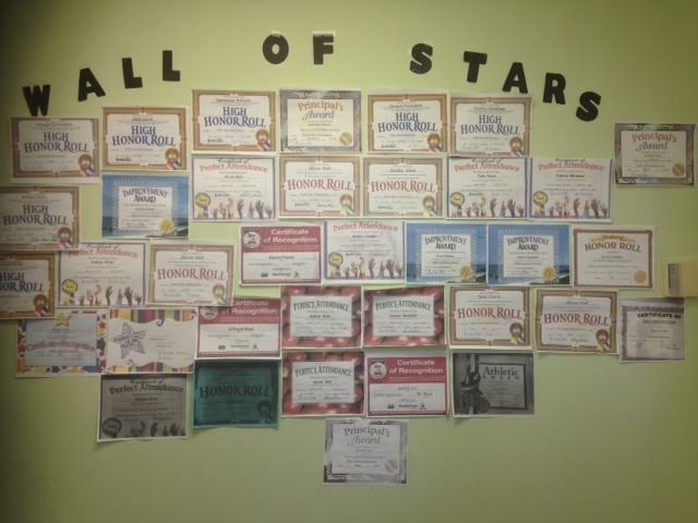 Wall of Stars - PS Youth
